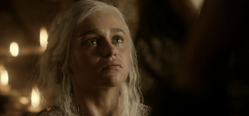 Emilia Clarke, Game of Thrones, Baelor