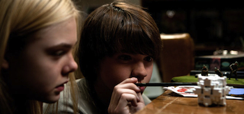 Joel Courtney, Elle Fanning, Super 8, 2011