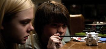 Joel Courtney, Elle Fanning, Super 8, 2011