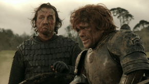 Peter Dinklage, Jerome Flynn, Game of Thrones, Baelor