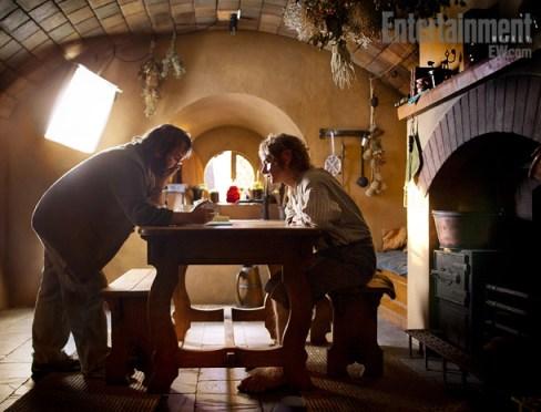 Peter Jackson, Martin Freeman, The Hobbit, 01