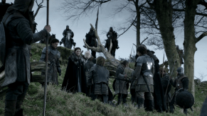 Richard Madden, Michelle Fairley, Ron Donachie, Alfie Allen, Nikolaj Coster-Waldau, Game of Thrones, Baelor