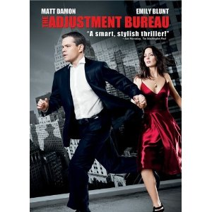 The Adjustment Bureau DVD Cover