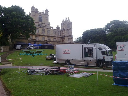 Wollaton Hall, The Dark Knight Rises, 2012, Set Photo, 01