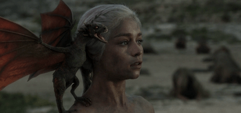 Emilia Clarke, Game of Thrones, Fire and Blood, 05