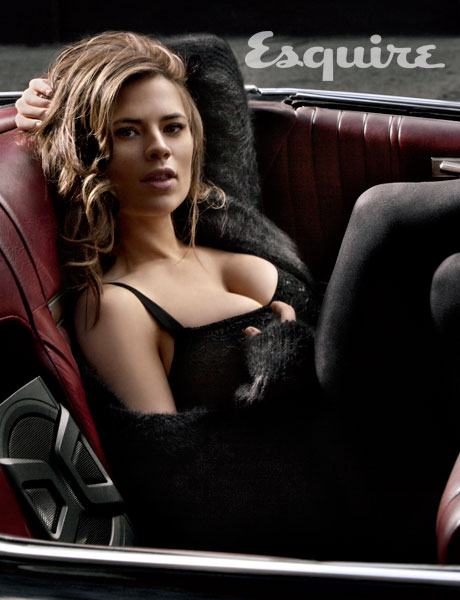 Hayley Atwell, Esquire Magazine, August 2011, 02