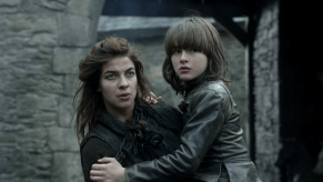 Isaac Hempstead-Wright, Natalia Tena, Game of Thrones, Fire and Blood, 02