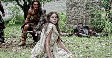 Jason Momoa, Rachel Nichols, Conan the Barbarian, 2011, 02