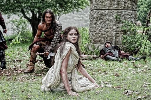Jason Momoa, Rachel Nichols, Conan the Barbarian, 2011, 02
