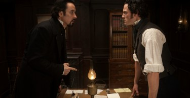 John Cusack, Luke Evans, The Raven, 02
