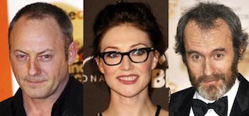 Liam Cunningham, Carice van Houten, Stephen Dillane