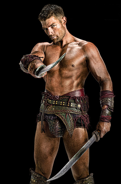 Liam McIntyre, Spartacus: Vengeance, Entertainment Weekly, 01