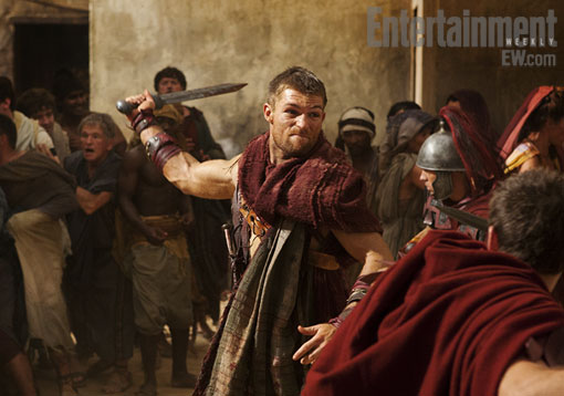 Liam McIntyre, Spartacus: Vengeance, Entertainment Weekly, 02