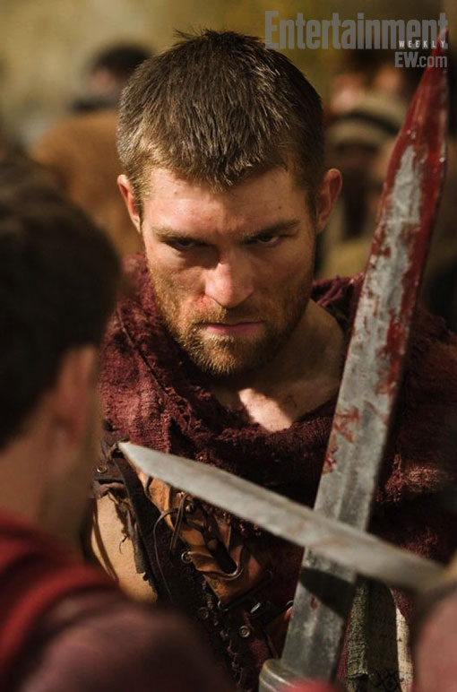 Liam McIntyre, Spartacus: Vengeance, Entertainment Weekly, 03