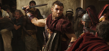 Liam McIntyre Spartacus Vengeance Entertainment Weekly