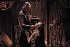Stephan Lang, Rose McGowan, Conan the Barbarian, 2011, 01