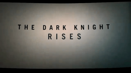 Title, Teaser Trailer Bootleg, The Dark Knight Rises, 2012