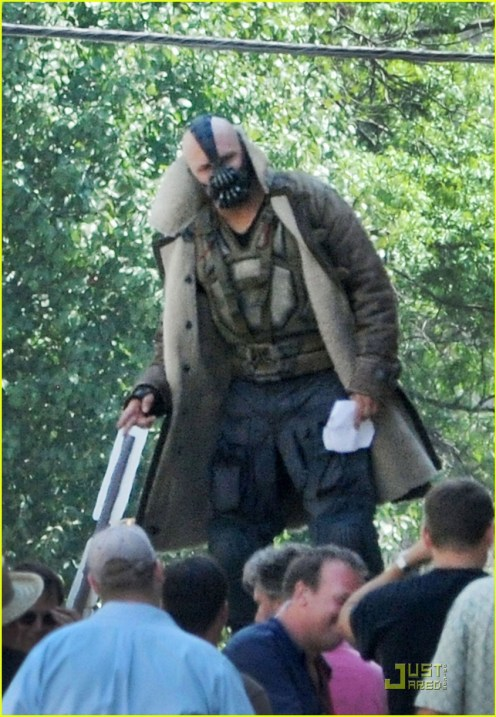 Tom Hardy, The Dark Knight Rises, 2012, Set, 03