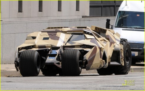 Tumbler, The Dark Knight Rises, 2012, Set