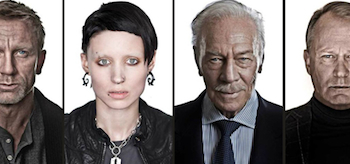 Rooney Mara, Daniel Craig, Christopher Plummer, Stellan Skarsgard, The Girl With the Dragon Tattoo 2011, Character Profiles