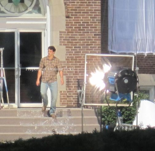 Henry Cavill, Man of Steel 2012, Set, 02