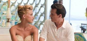Johnny Depp, Amber Heard, The Rum Diary 2011