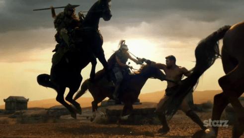 Liam McIntyre, Spartacus Vengeance, 01
