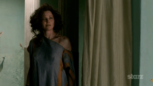 Lucy Lawless, Spartacus Vengeance, 01