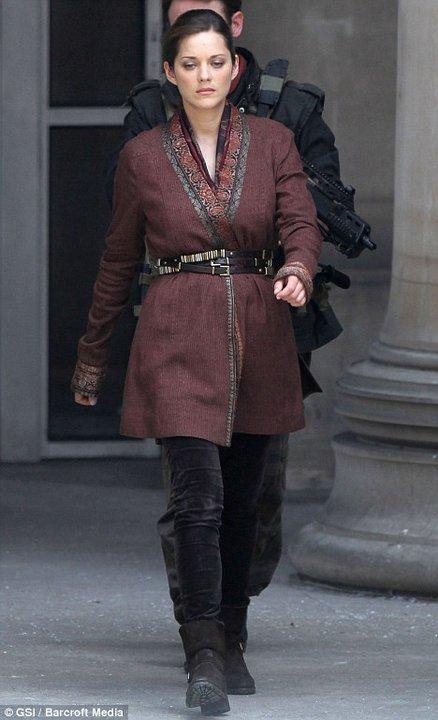 Marion Cotillard, Talia al Ghul, The Dark Knight Rises, Set 01