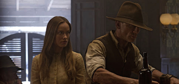 Olivia Wilde, Daniel Craig, Cowboys and Aliens, 2011