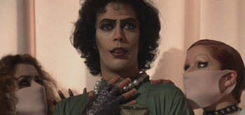 Tim Curry, The Rocky Horror Picture Show, 1975