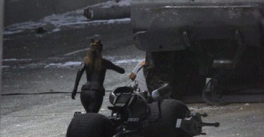 Anne Hathaway, Catwoman, HEMTT, Batpod, The Dark Knight Rises 2012, Set 01