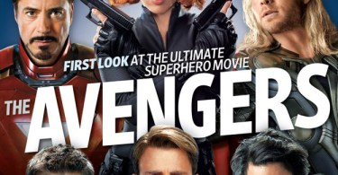 The Avengers, Entertainment Weekly October 2011 Cover