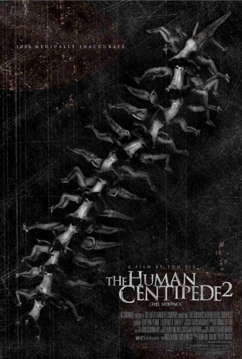 The Human Centipede 2 Full Sequence Movie Poster, 01