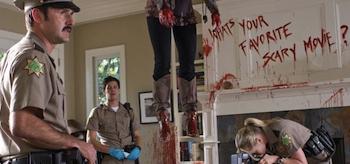 David Arquette, Adam Brody, Marley Shelton, Scream 4 2011