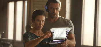 Hugh Jackman, Evangeline Lilly, Real Steel 2011