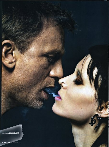 Rooney Mara, Daniel Craig, The Girl with the Dragon Tattoo, Empire Magazine November 2011, 01