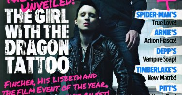 The Girl with the Dragon Tattoo, Empire Magazine November 2011 Cover
