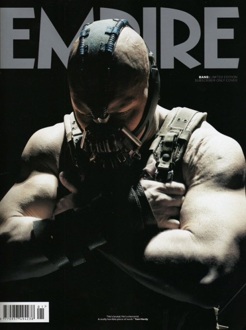 Bane Empire Magazine Cover January 2012