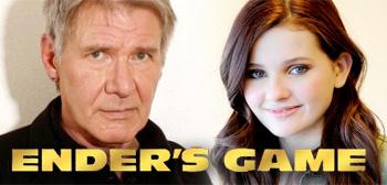 Harrison Ford, Abigail Breslin, Ender's Game