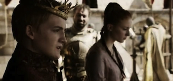 Jack Gleeson, Sophie Turner, Game of Thrones