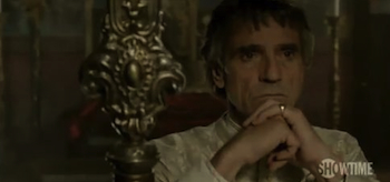 Jeremy Irons, The Borgias