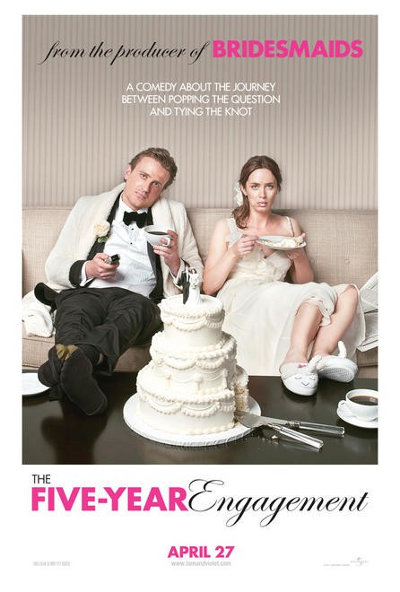 The Five Year Engagement Movie Poster