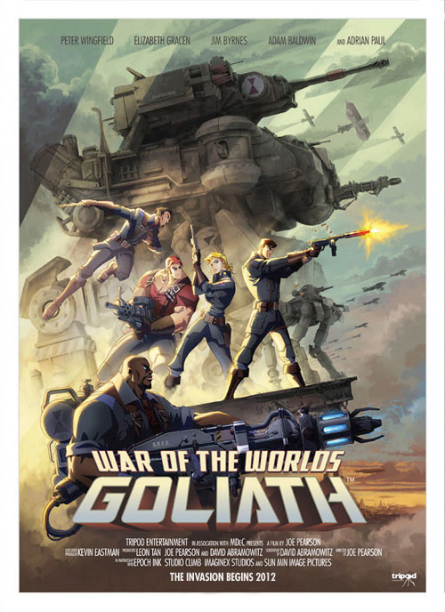 War of the Worlds Goliath Movie Poster