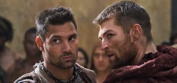 Manu Bennett, Liam McIntyre, Spartacus: Vengeance