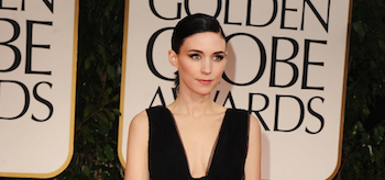Rooney Mara, Golden Globe Awards 2012