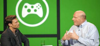 Ryan Seacrest, Steve Ballmer, Consumer Electronics Show