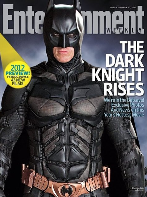 The Dark Knight Rises, Entertainment Weekly, January 2012 Cover