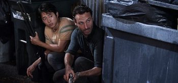 Andrew Lincoln, Steven Yeun, The Walking Dead