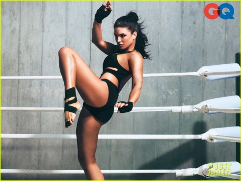 Gina Carano, GQ Magazine, January 2012